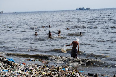 pollution images info - Water Pollution in Manila Bay,Philippines