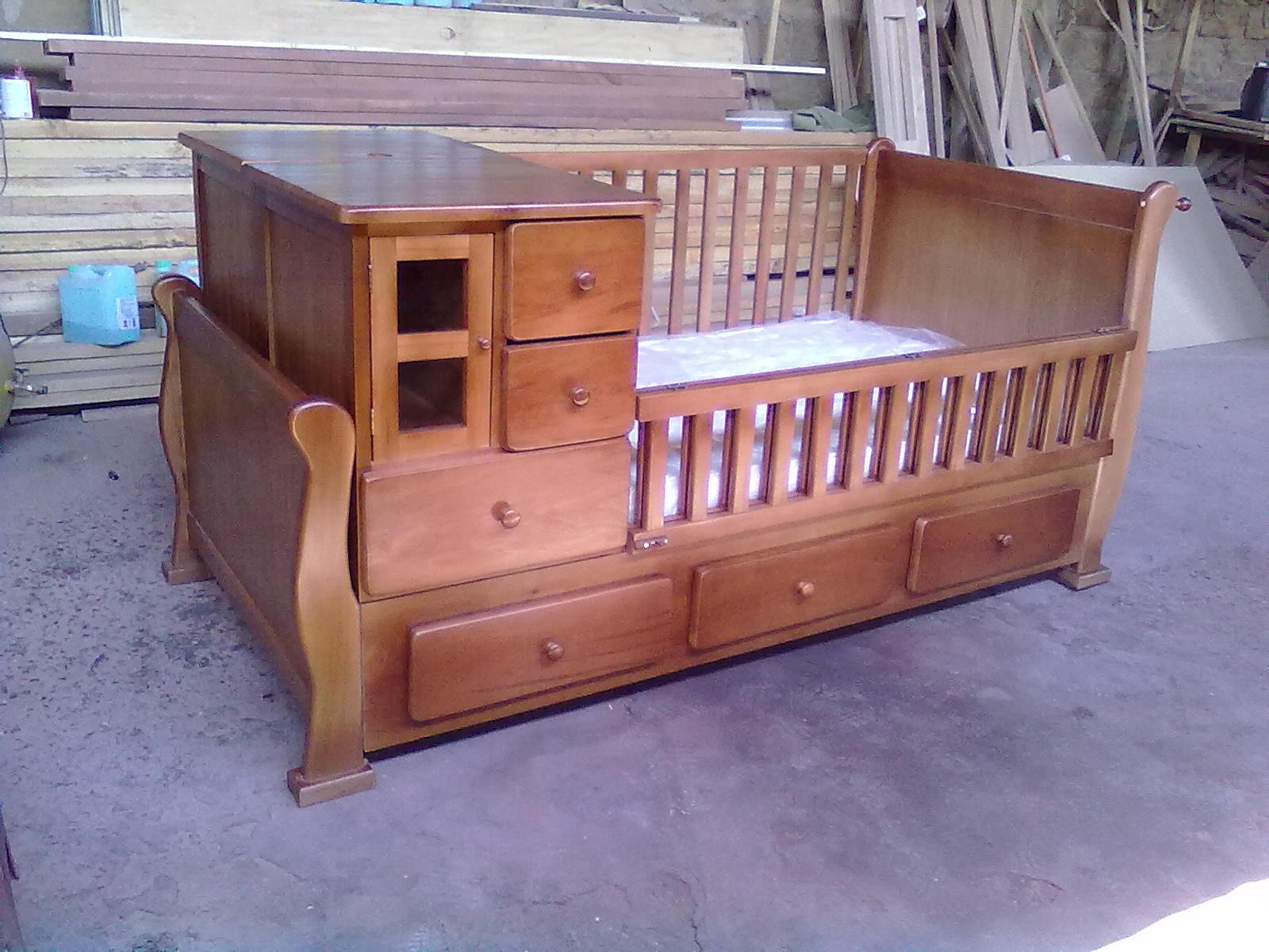 Muebles kotue cuna cuja m ltiple con cajones - Cuna con cajones ...