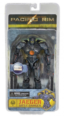 NECA Pacific Rim Series 2 Jaeger Battle Damaged Gypsy Danger Figure