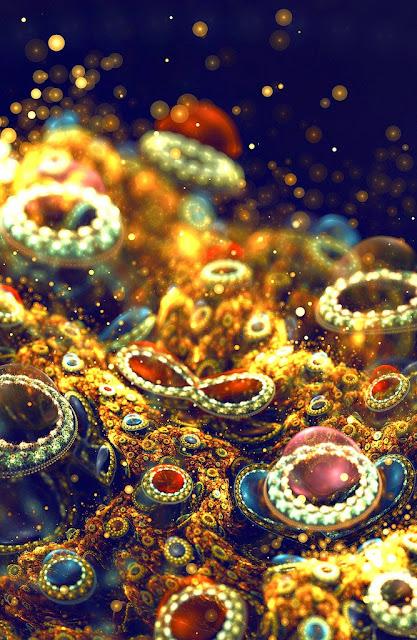 Фрактальная графика итальянской художницы Сильвии Кордедды (Silvia Cordedda)
