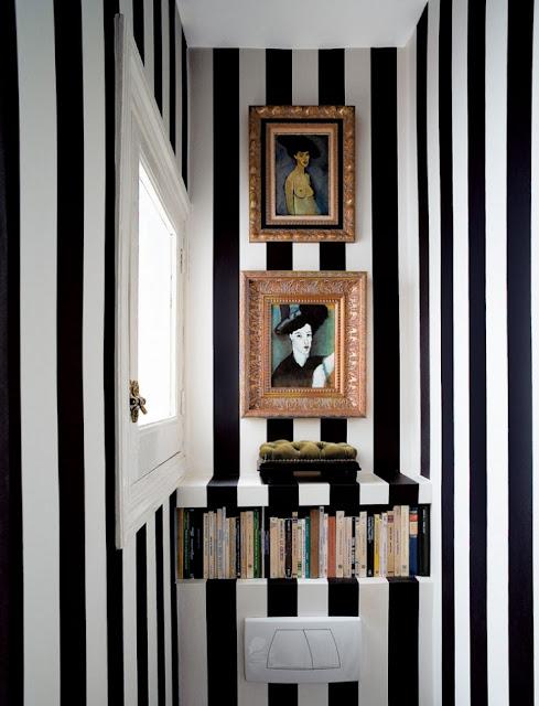Schwarz-Weiß im Bad-Design von Nacho Polo