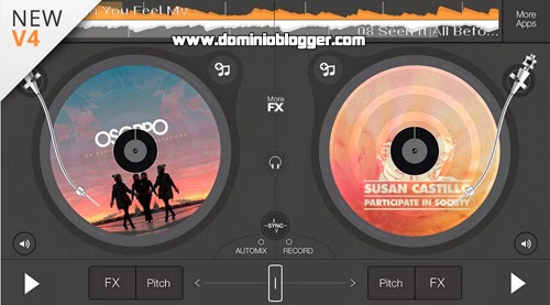 Conviertete en un Deejay con Edjing DJ desde tu telefono movil