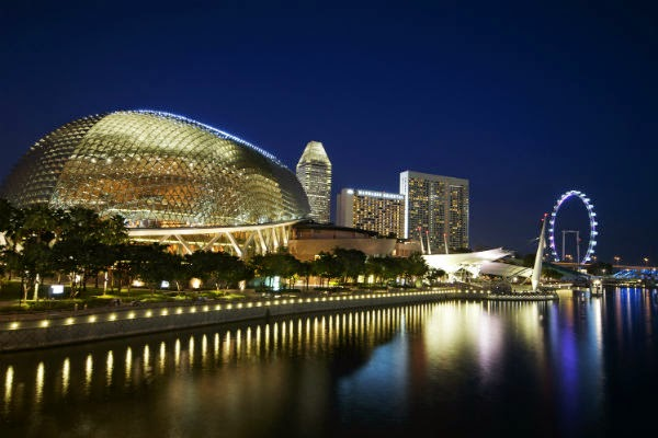 favorite places Singapore Esplanade