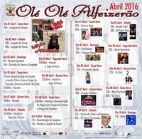 """""""Olé, Olé Alfeizerão"""" - 1 a 10 Abril 2016"""