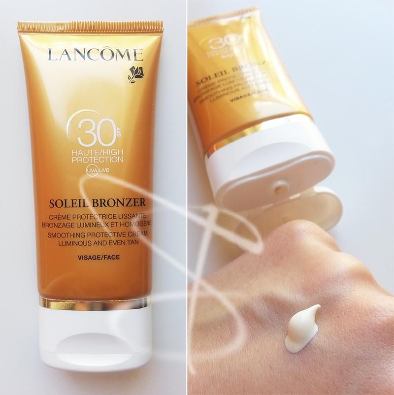 protezione solare viso, Lancome Soleil Bronzer Visage SPF 30