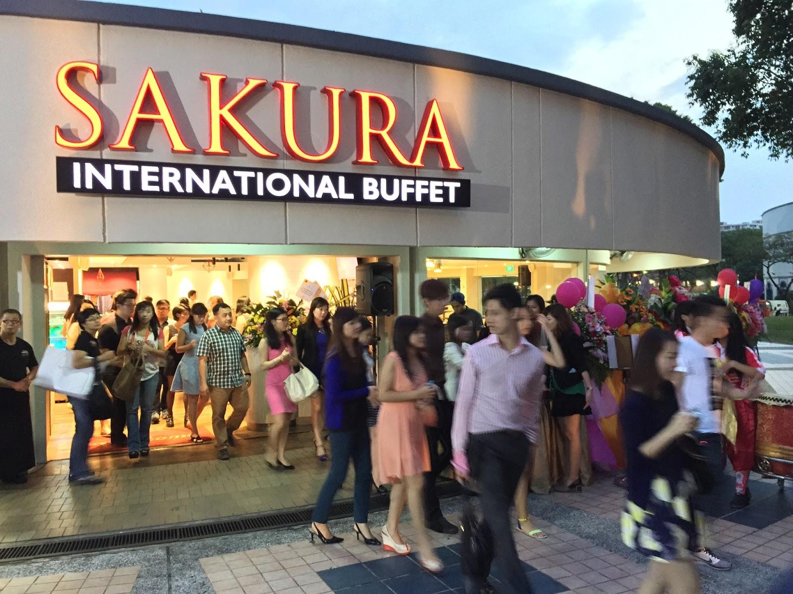 Sakura International Buffet at Yio Chu Kang 2