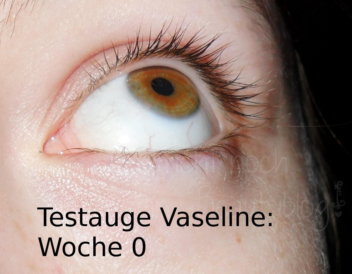 vaseline für wimpern