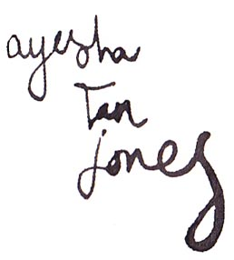 ayesha tan jones
