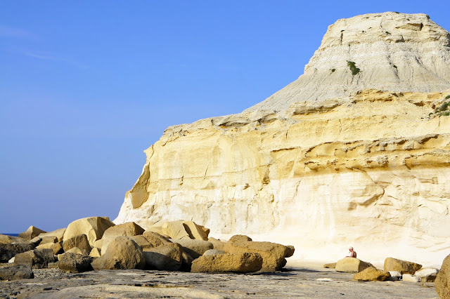 rock formations gozo