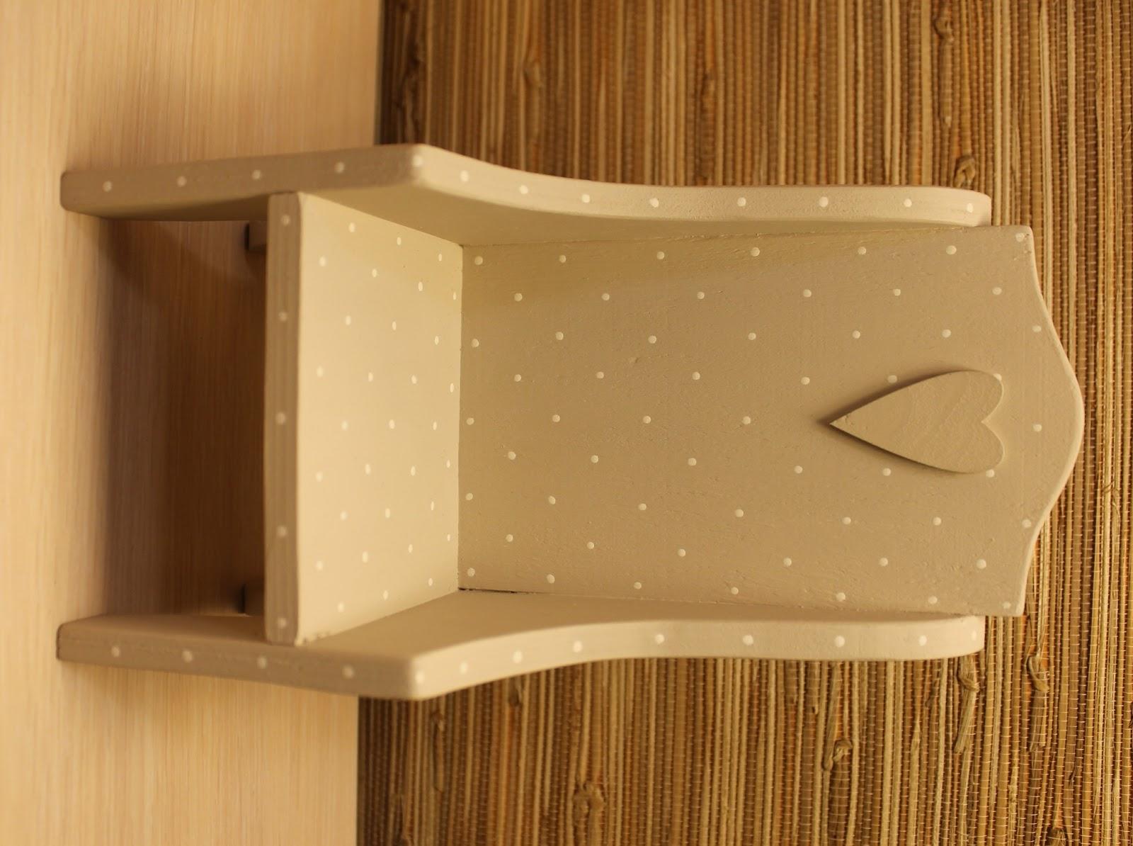 Кресло для куклы из фанеры 17