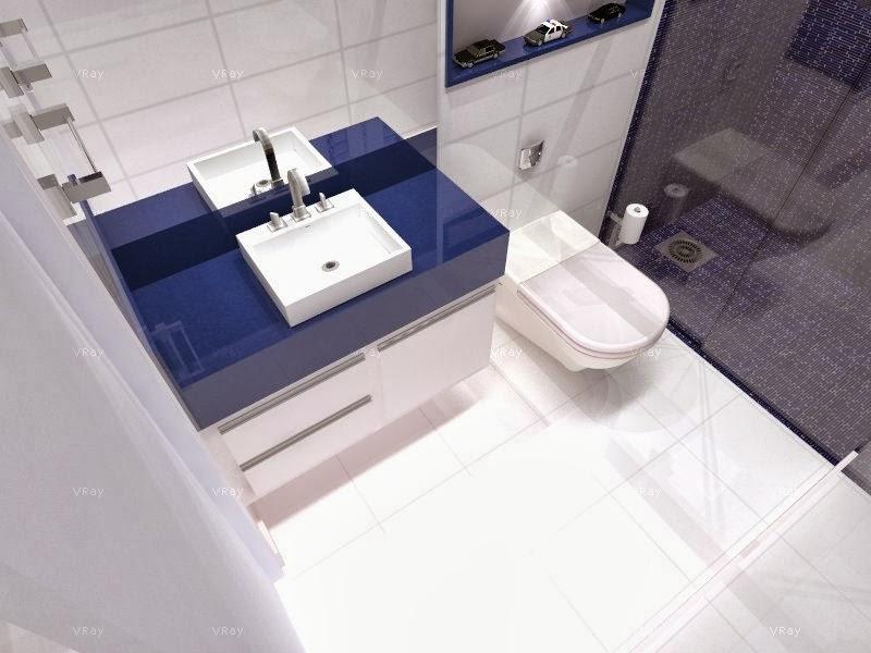 Minha Casa em Vinhedo Setembro 2013 -> Banheiro Pequeno Oq Fazer