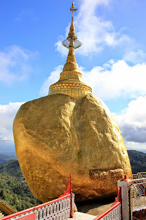 Roca dorada golden rock - Myanmar