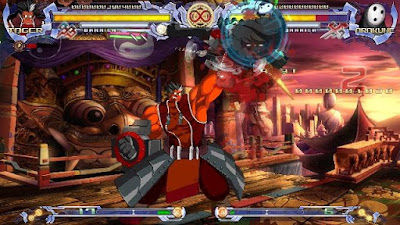 BlazBlue Calamity Trigger Gameplay windows PC