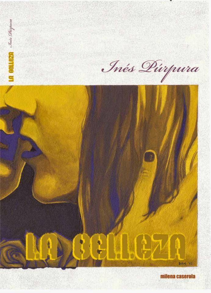 """Participo con mi arte del libro de Inés Púrpura """"La Belleza"""""""