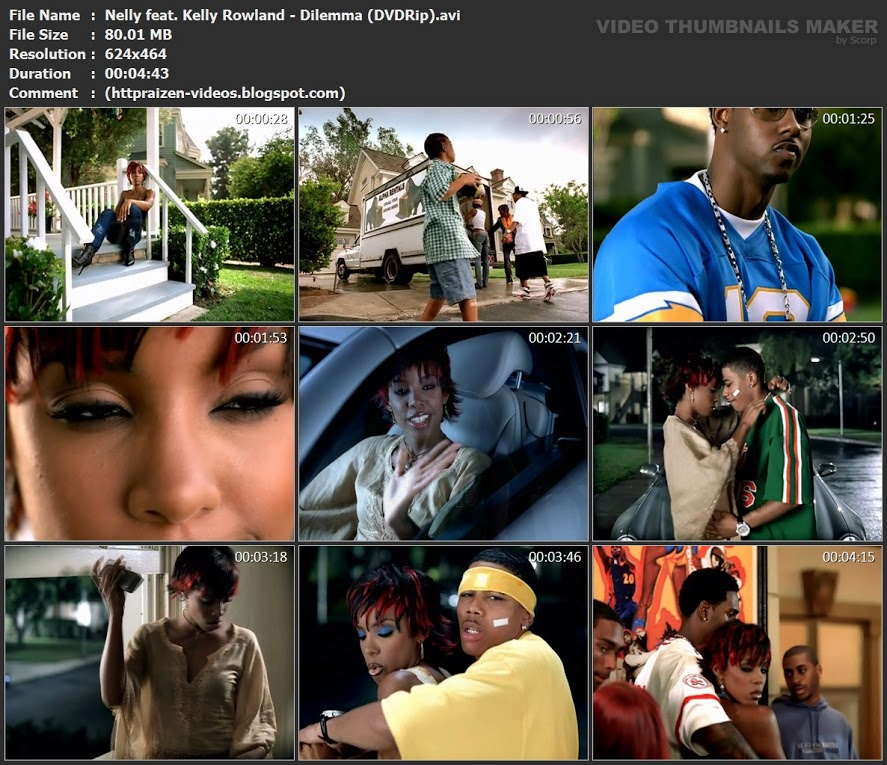 Nelly Dilemma Ft Kelly Rowland Official Music Video MP3 ...