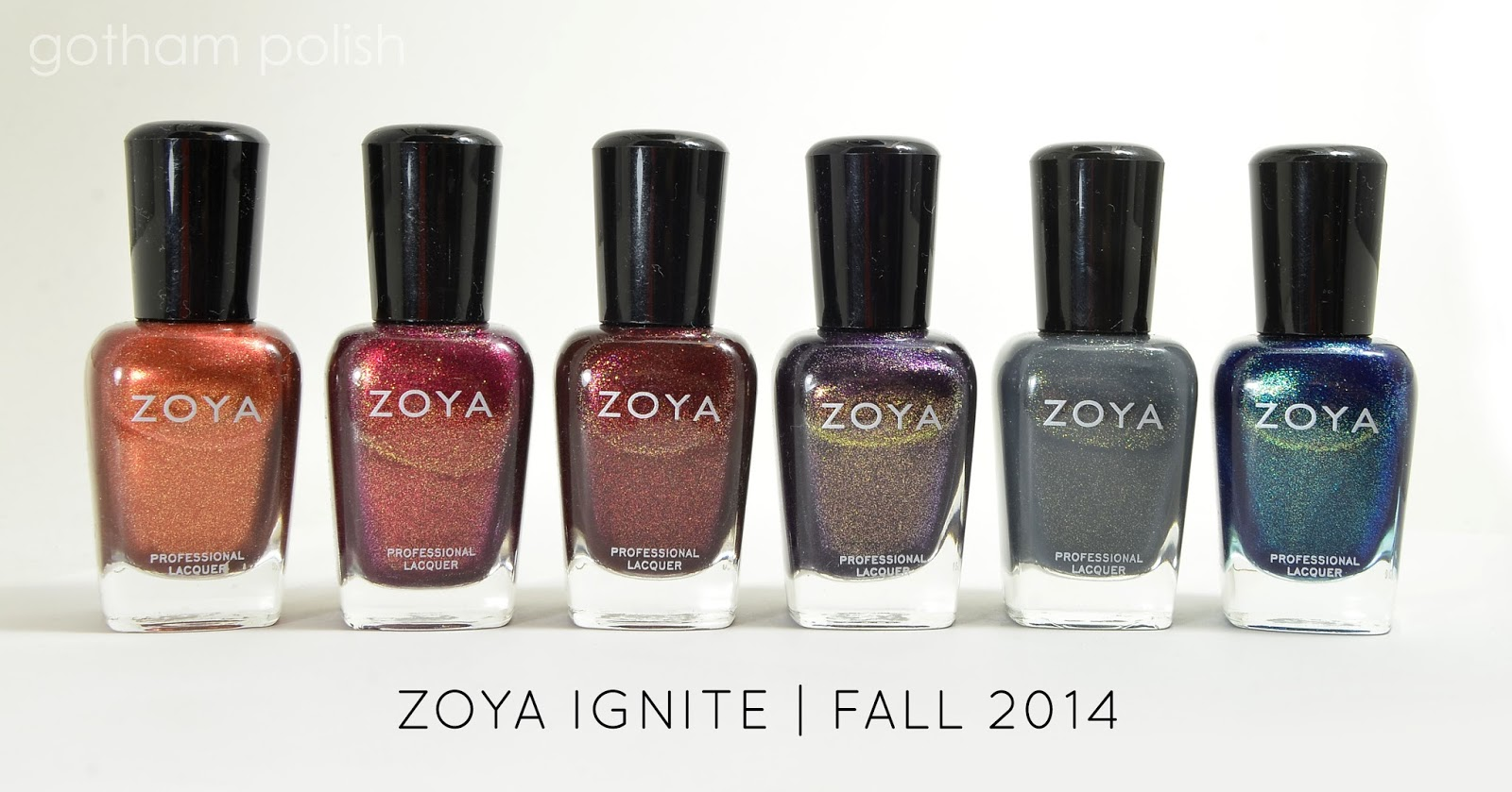 Zoya Ignite Collection
