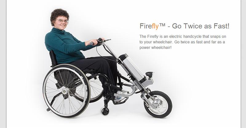 コレは可能性が広がる!車いすに取り付けるタイプの電動アシスト機構