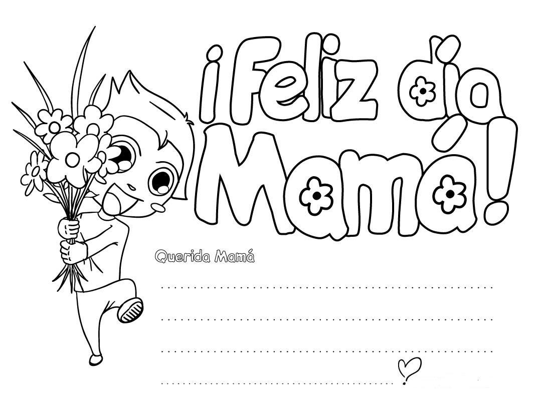 Tarjeta para el día de las Madres - Dibujo Views