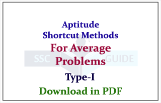 Aptitude Shortcuts and Mind Tricks for Average Related Problems