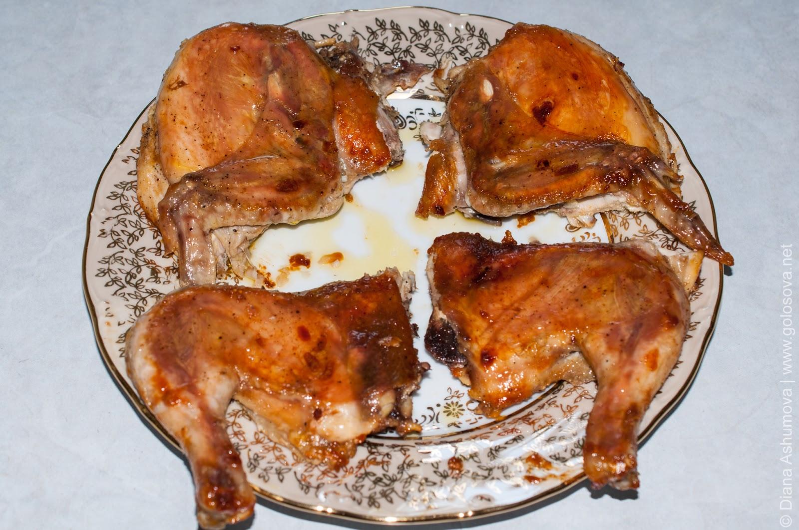 Пошаговый рецепт курицы табака