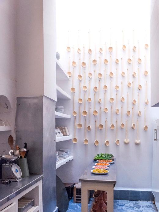 7 ideas muy decorativas para la cocina for Guardas decorativas para cocina