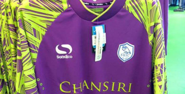sheffield wednesday 1516 goalkeeper kit released footy