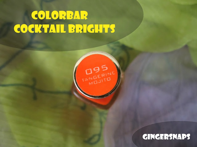 Colorbar Tangerine Mojito Review