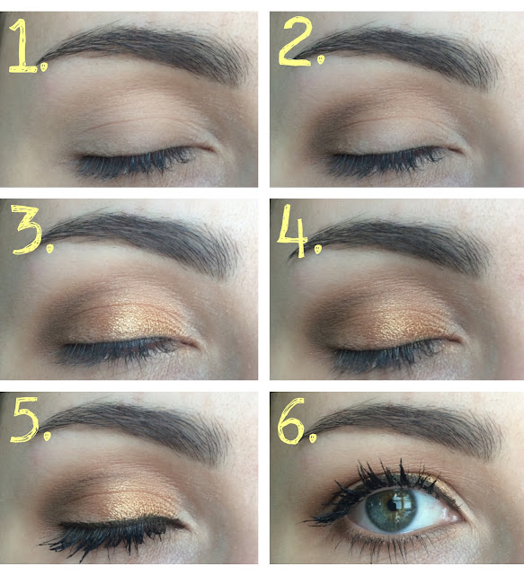 Lorac Unzipped Gold Palette Tutorial Bronze, Gold Look