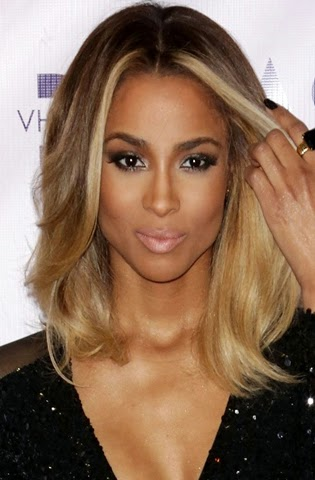 Hairstyles ciara hairstyles a simple center partition suffices the fabulous shiny look of the styles and works wonders with no matter what you wear sleek ciara hairstyles also have pmusecretfo Gallery
