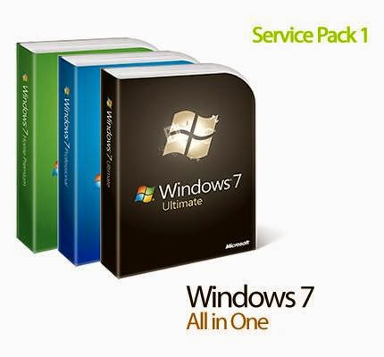 Download Windows 7 AIO 52in2 SP1 x86/x64 Pre-Activated Integrated May 2014