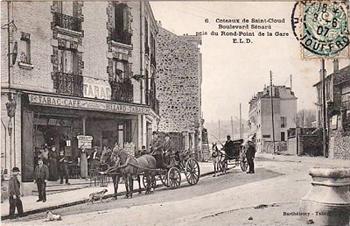 Les coteaux de saint cloud autrefois toutocoto - Porte de saint cloud restaurant ...