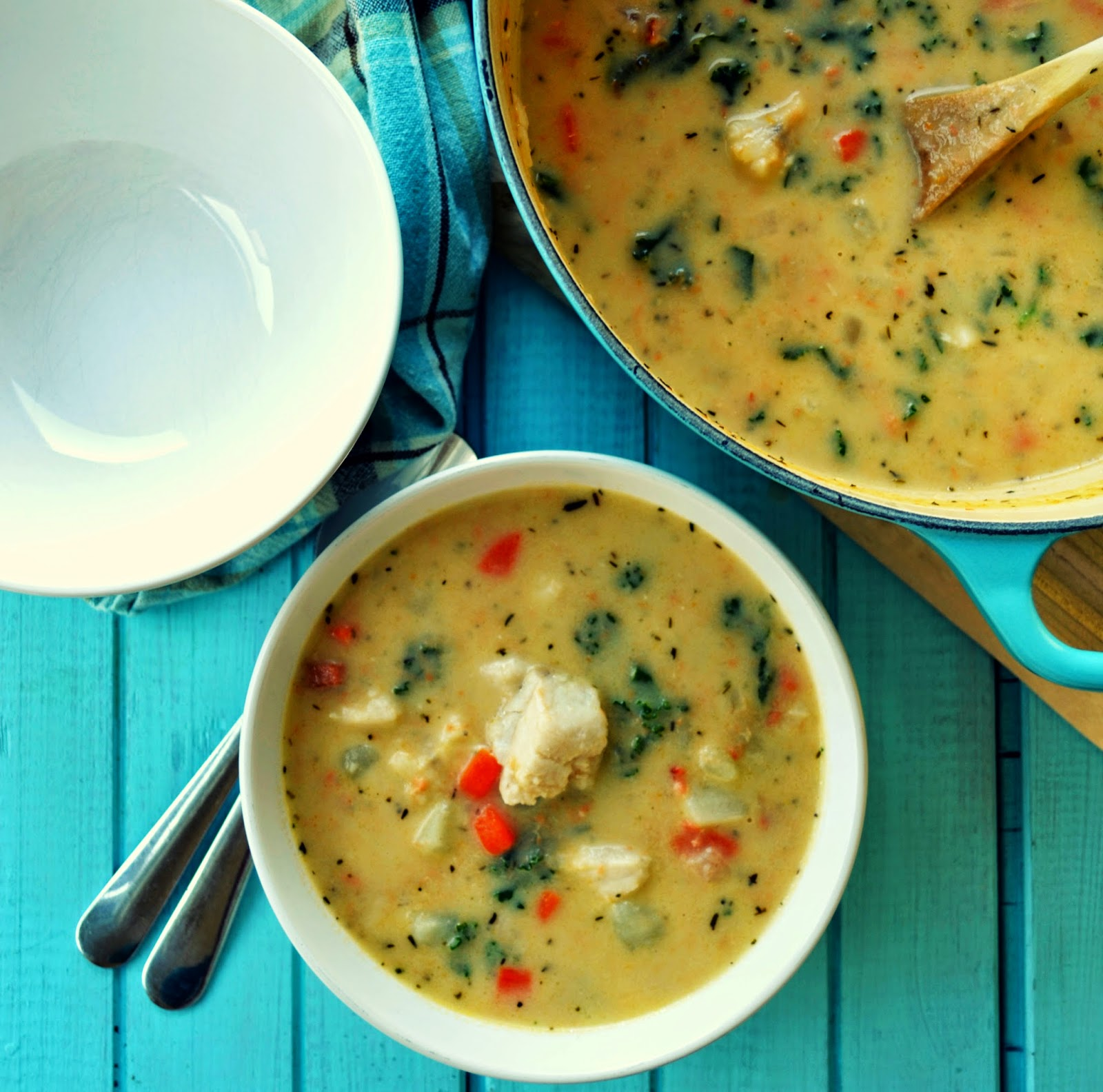South Coast Portuguese Fish Chowder Recipes — Dishmaps
