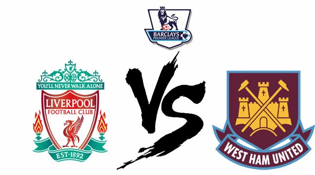 Liverpool vs West Ham United