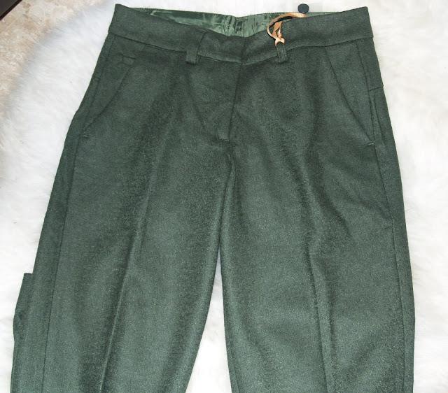 Pantalón Silvian Heach verde militar
