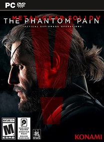 Metal Gear Solid V The Phantom Pain MULTi8 RePack-RG SGAMES TERBARU FOR PC cover 1