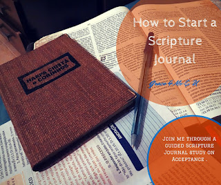 Starting a scripture journal may be scary, but it doesn't have to be. Start slow by picking a journal and doing the prep work. Find out how to prep your journal so you're ready to start strong. | Grace 4 Me & U