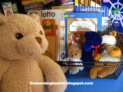 jesse bear what will you wear learning basket