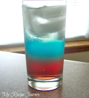 Red White and Blue Drink
