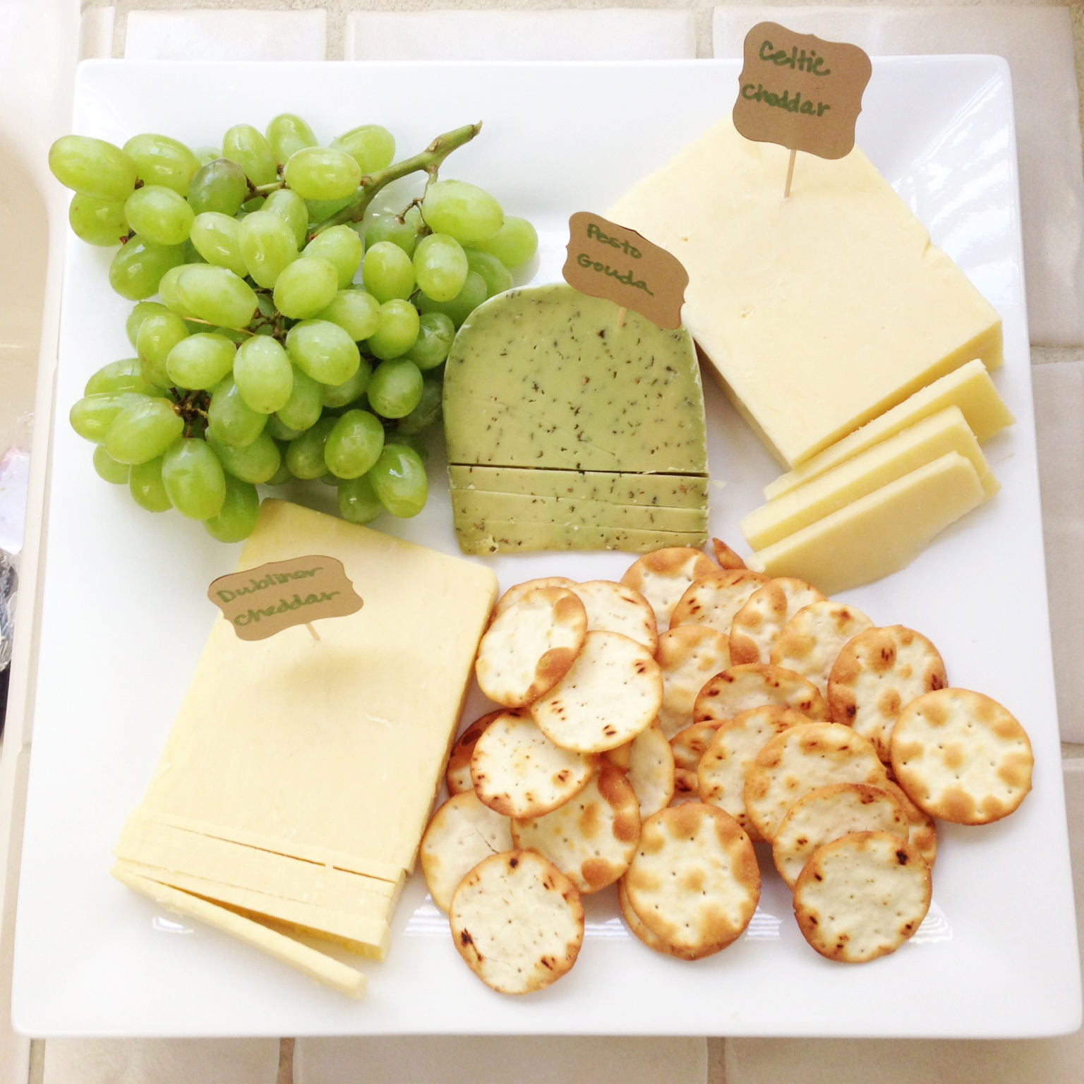 In addition to the Irish Soda Bread I also threw together a St. Pattyu0027s Cheese plate. I got the idea Friday afternoon when I was shopping at Trader Joeu0027s.  sc 1 st  Meet the Sullivans & Meet the Sullivans: St. Patricku0027s Weekend Wrap-Up