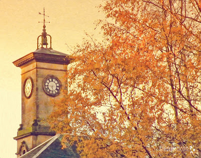autumn clocktower pixel bender oil painting plugin