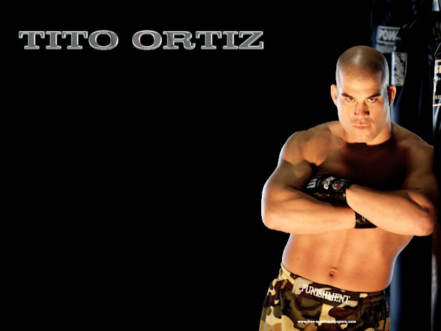 ufc mma fighter tito ortiz wallpaper picture