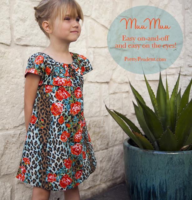 Muumuu free sewing pattern