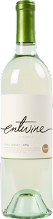 bottle of Entwine Pinot Grigio