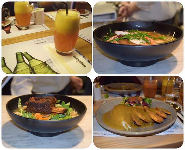 food at wagamamas