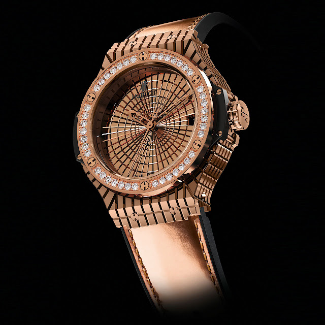Hublot Big Bang Caviar Red Gold Diamonds Watch