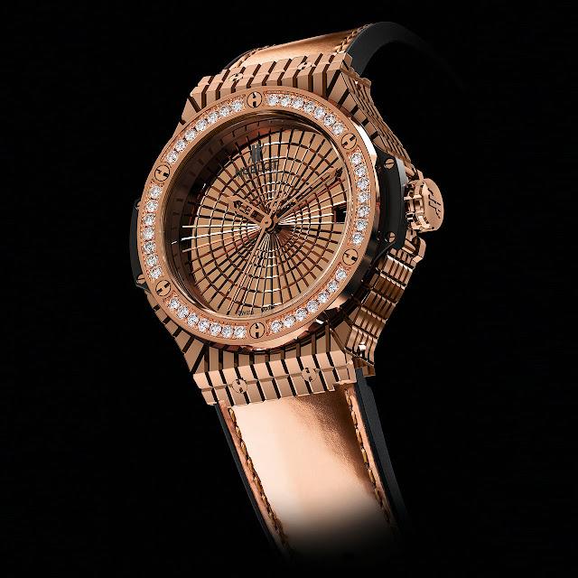Hublot Big Bang Caviar Red Gold Diamonds Watch