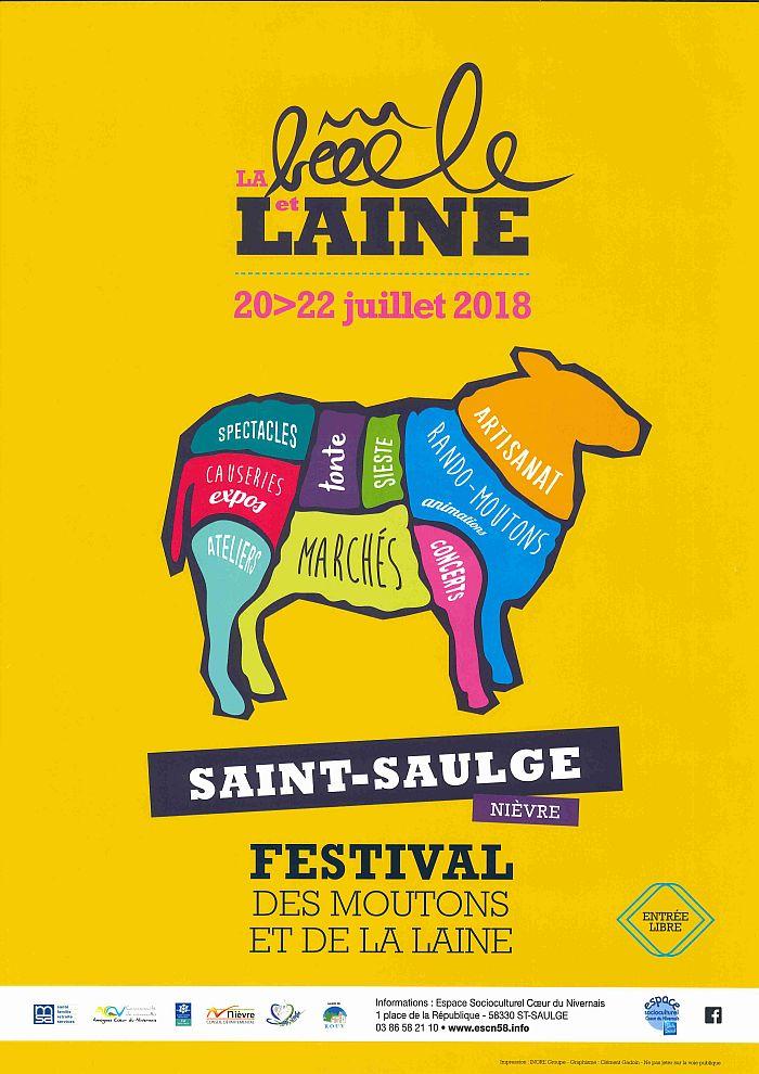 La Bèeele et laine du 20 au 22 juillet à Saint Saulge