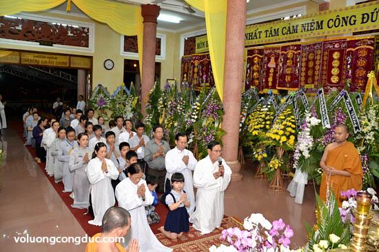 Lễ viếng Giác Linh Cố HT Thích Giác Dũng - Trang thông tin letang-19