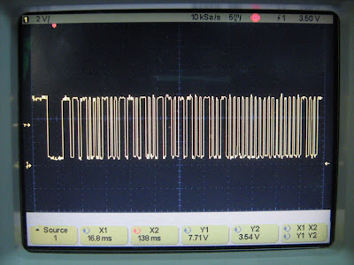 IR remote decoding