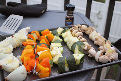 Grilled vegetables with Montreal Steak Seasoning